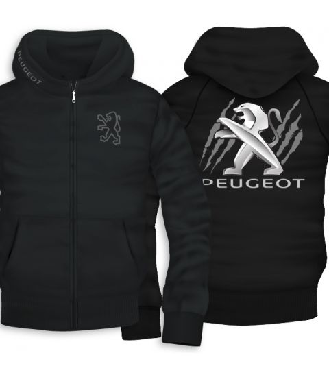 Peuzeot Back Zipper