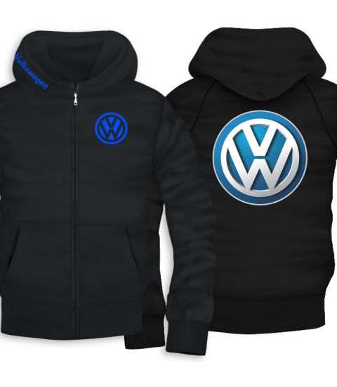 VW Back Print Zipper