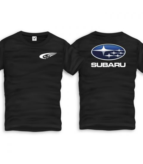 Subaru Back T-Shirt